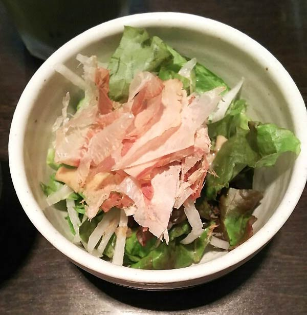 大根とレタスと水菜のサラダ