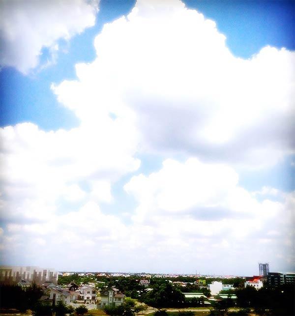 サイゴンの空