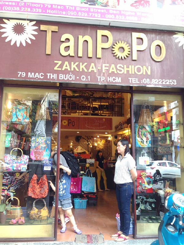 ホーチミンのお土産屋さんTanPoPo(タンポポ)