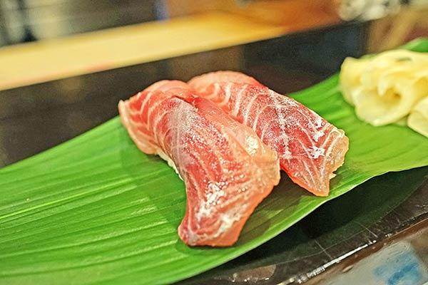 イサキのお寿司