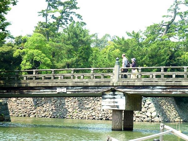 レトロな橋が日本を感じます