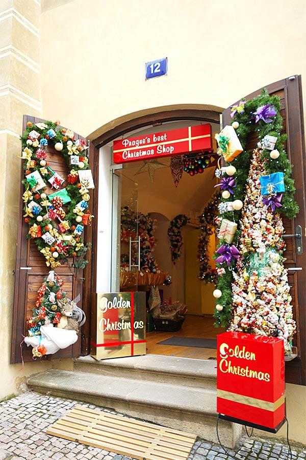 クリスマスショップを発見