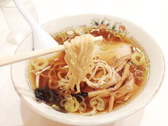 コシが強い太麺