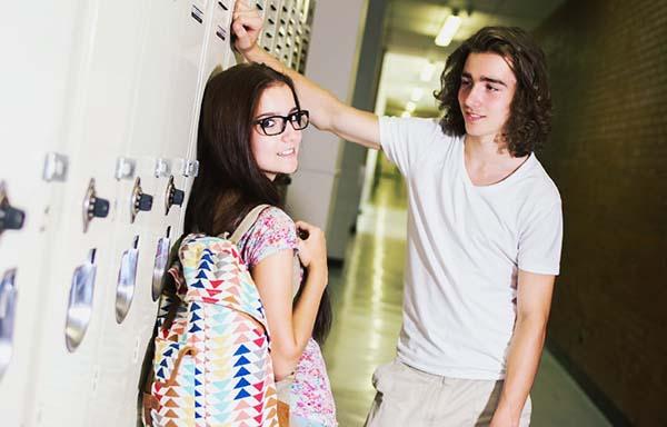 恋をする学生
