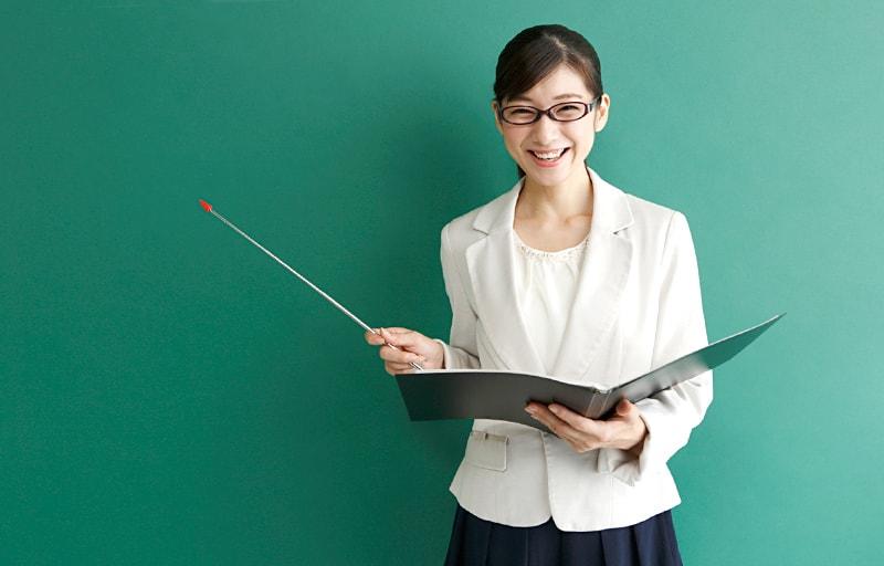 教師の女性