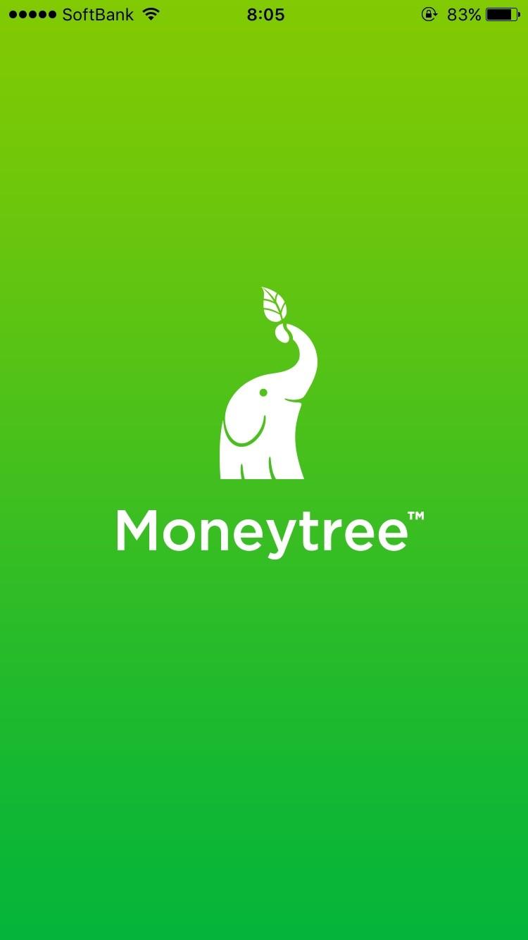 Moneytree画面その1