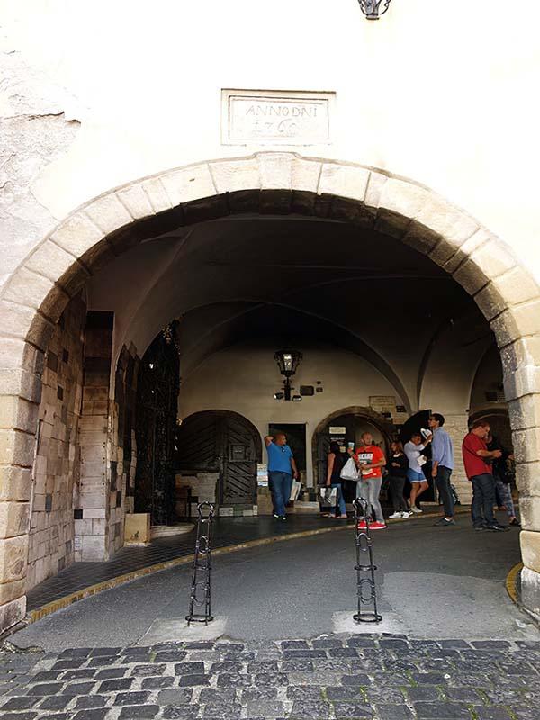 聖マルコ広場「石の門」