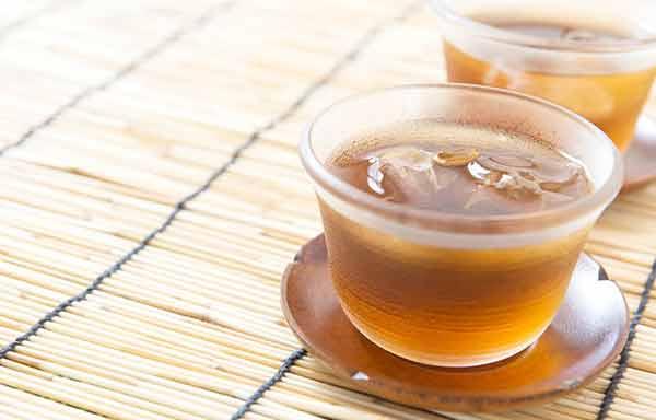 冷たい麦茶