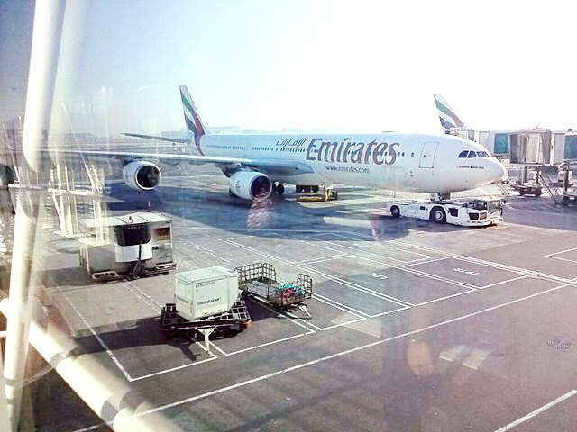 ドバイの空港の風景