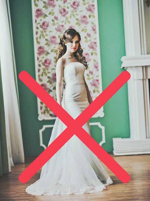 結婚式で白いドレスを着れるのは花嫁だけです