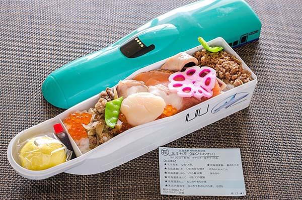 中は開けてびっくりチラシ寿司