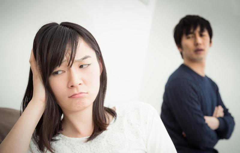 夫にうんざりしている妻