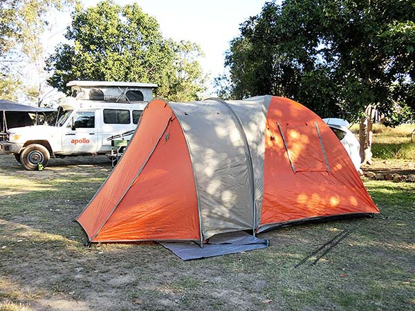 これからキャンプを始めます
