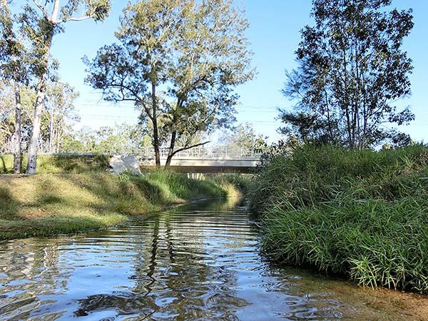 これが源泉の川です