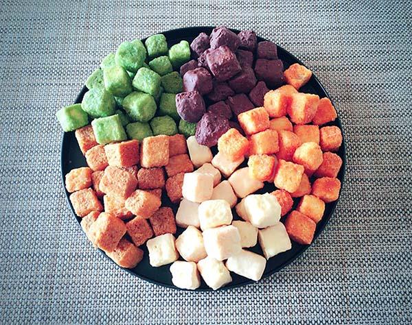 五色の味が楽しめます