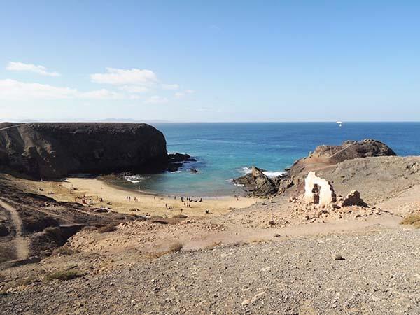 パパガヨのビーチ