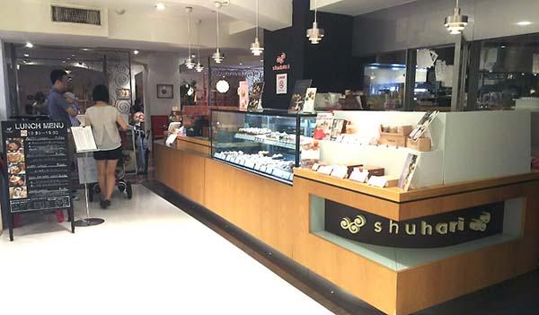 shuhari dolce(シュハリドルチェ)入口
