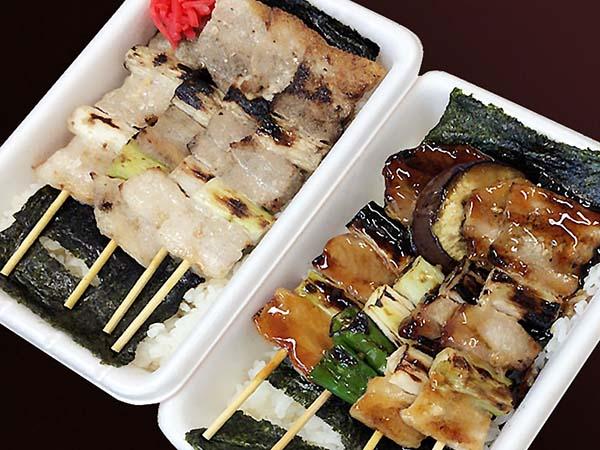 函館ハセガワストアの「やきとり弁当」