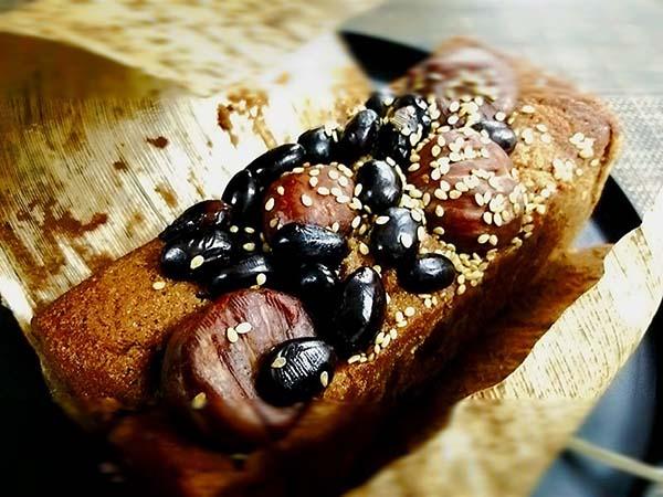 黒豆と栗のハーモニー