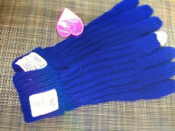 「ダイソー」ガールズトレンドのお揃いタッチ手袋