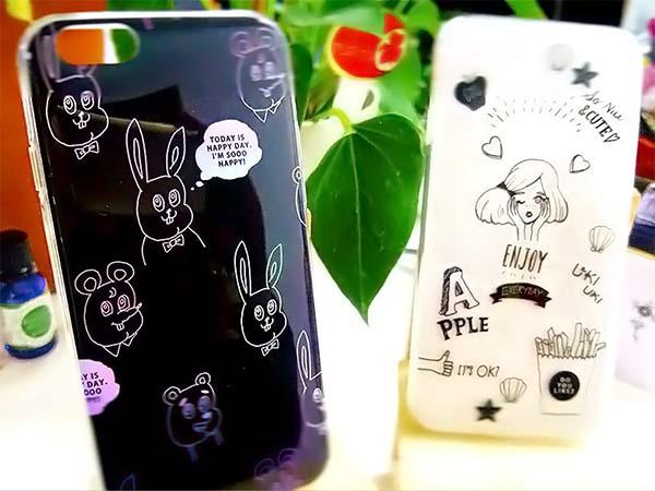 「ダイソー」ガールズトレンドのiPhone6/6s専用ケース