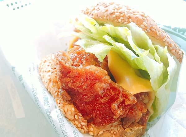 チャイニーズチキンバーガー(松)