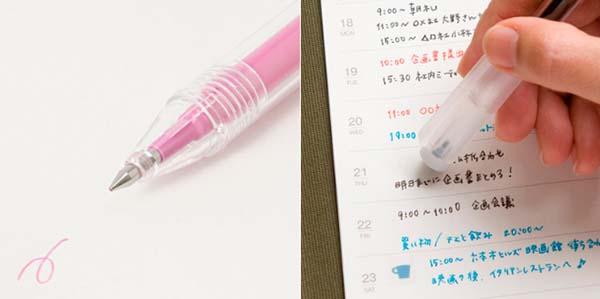手帳の細かい部分も書きやすい