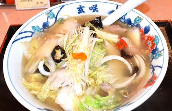 「玄咲 キャポ大谷地店」の塩ラーメン