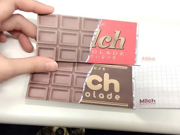 見た目もチョコレート