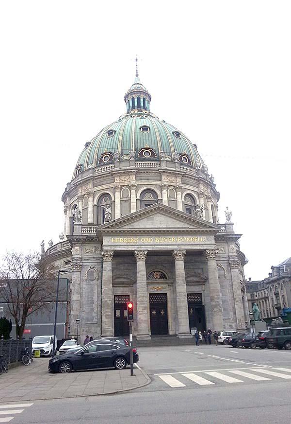 アマリエンボー宮殿の建造物