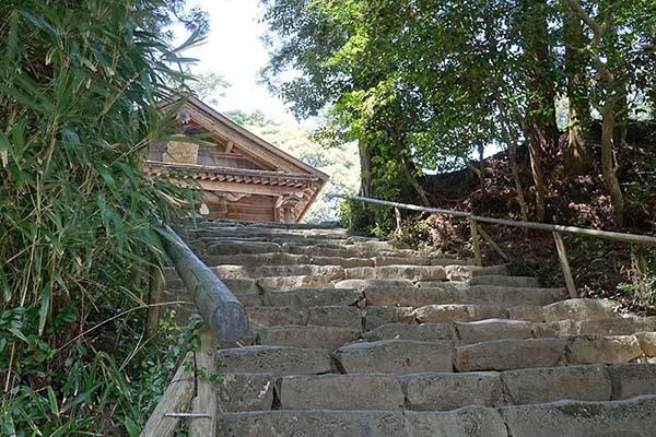 神魂神社の石段