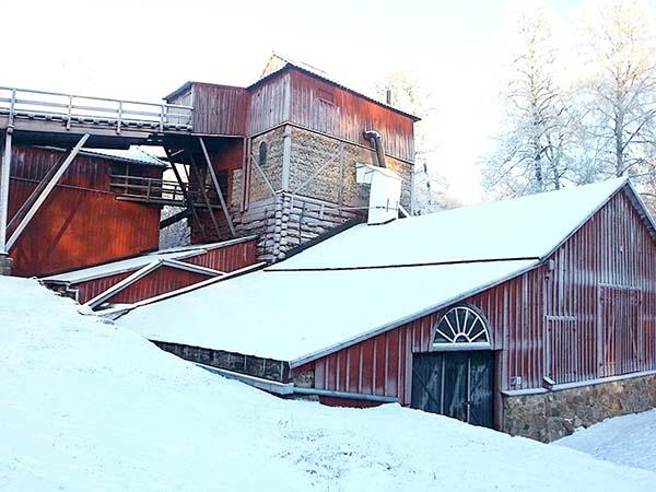 スウェーデンの世界遺産「エンゲルスバリ製鉄所」