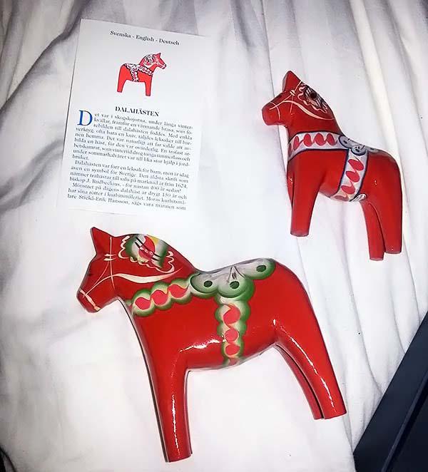 赤いお馬のダーラナホース
