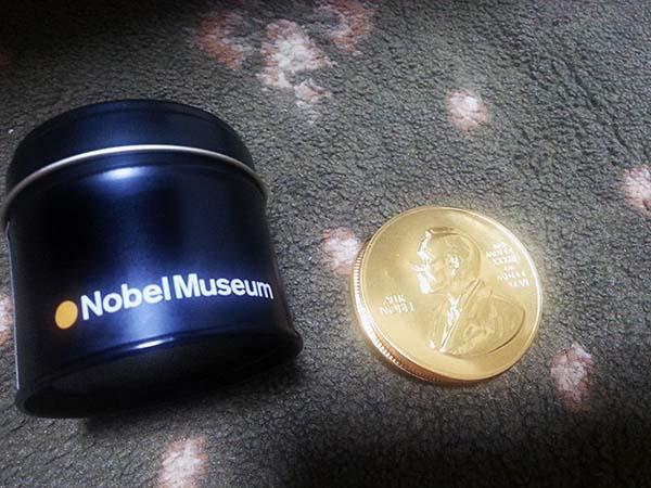 ノーベルチョコレート