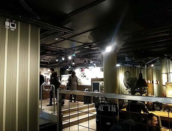 T‐セントラーレン駅にあるオシャレなカフェ