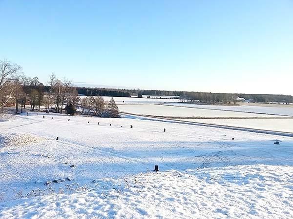 見渡す限り雪景色