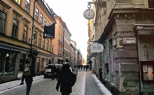 真冬のスウェーデン旅行記・仕事辞めたアラサー女の一人旅