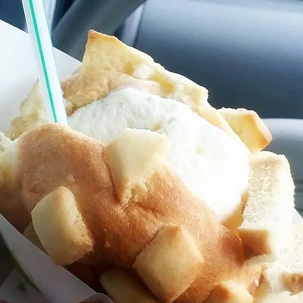 焼きたてメロンパンアイス