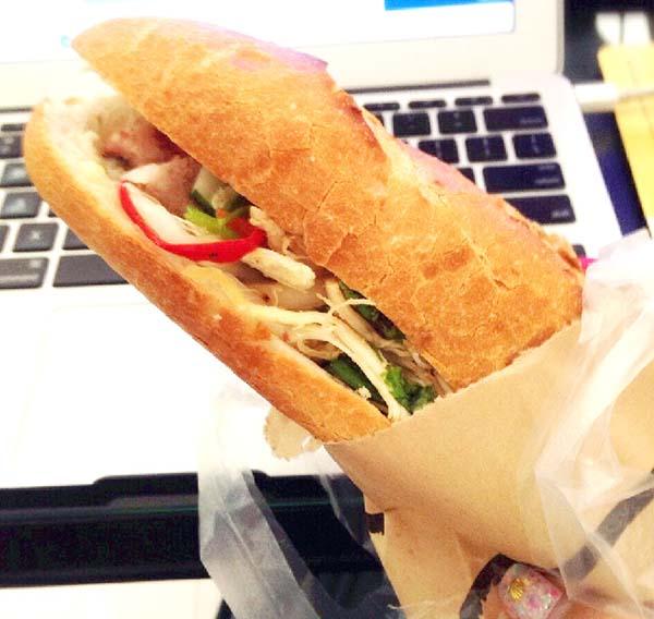 ベトナムのサンドイッチバインミー