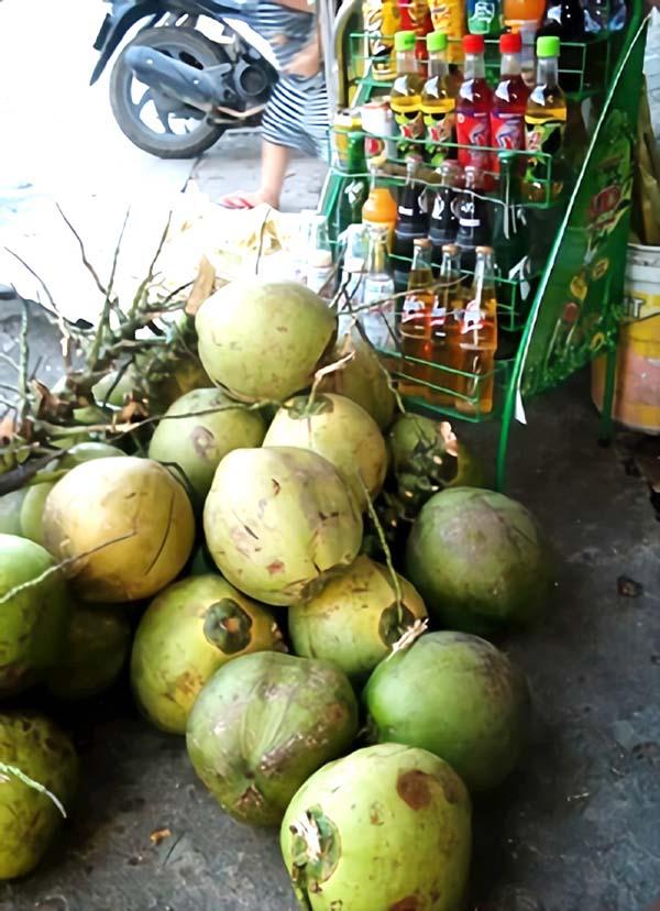 新鮮なココナッツ