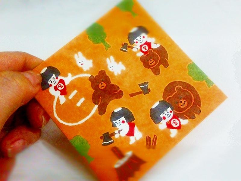 金太郎のポチ袋