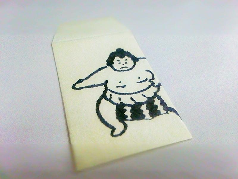 お相撲さんのポチ袋