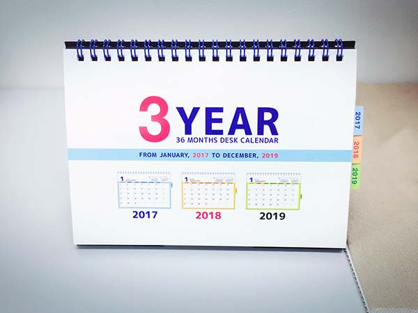 3YEARと書かれてますので3年間使うことが出来ます