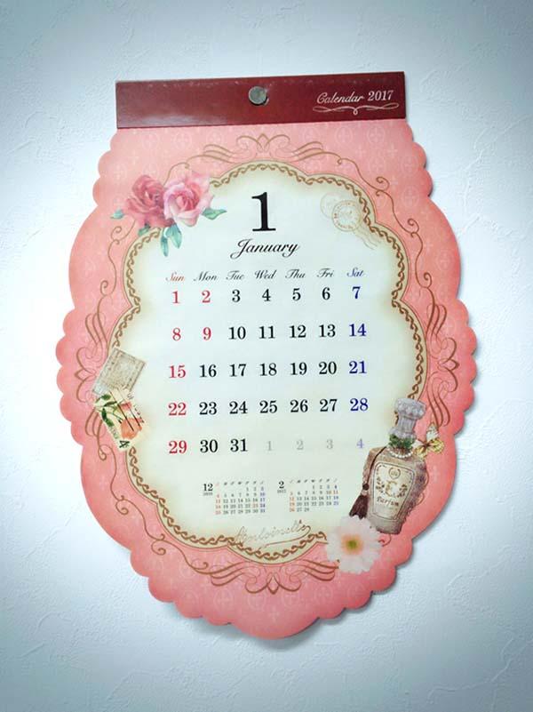 可愛いデザインカレンダー
