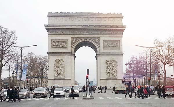 フランスパリ旅行・気ままに自由プラン楽しんできました!