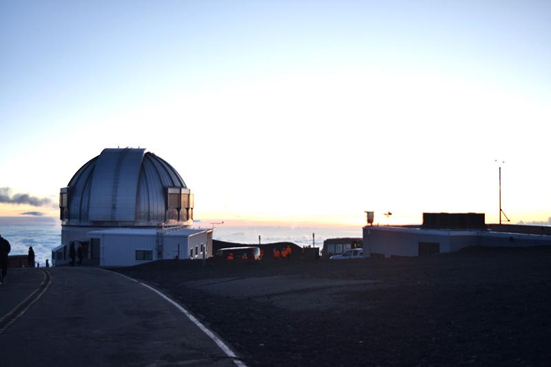 ハワイで星空観測