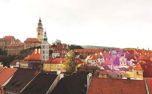 チェスキークルムロフ観光レポ・夢の国では景色に感動しっぱなし