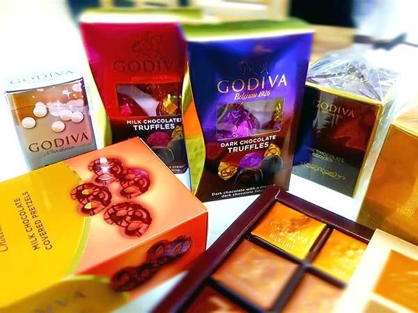 GODIVA(ゴディバ)のチョコレート