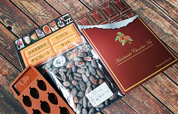 Dari K(ダリ・ケー)のカカオ豆から手作りチョコレート・キット