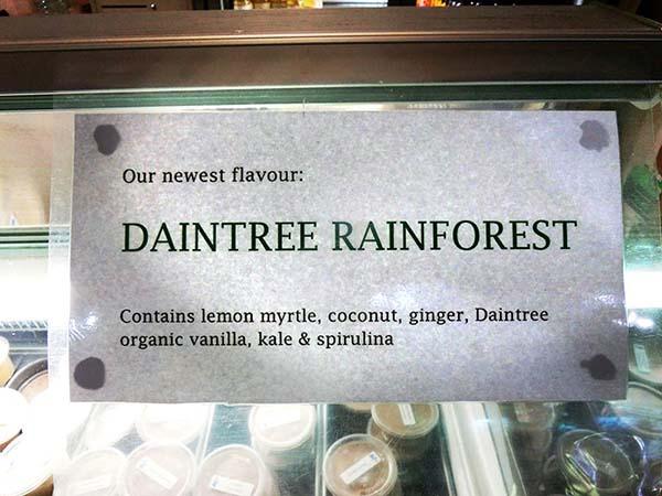 すごくおいしいアイスクリーム屋さんでした